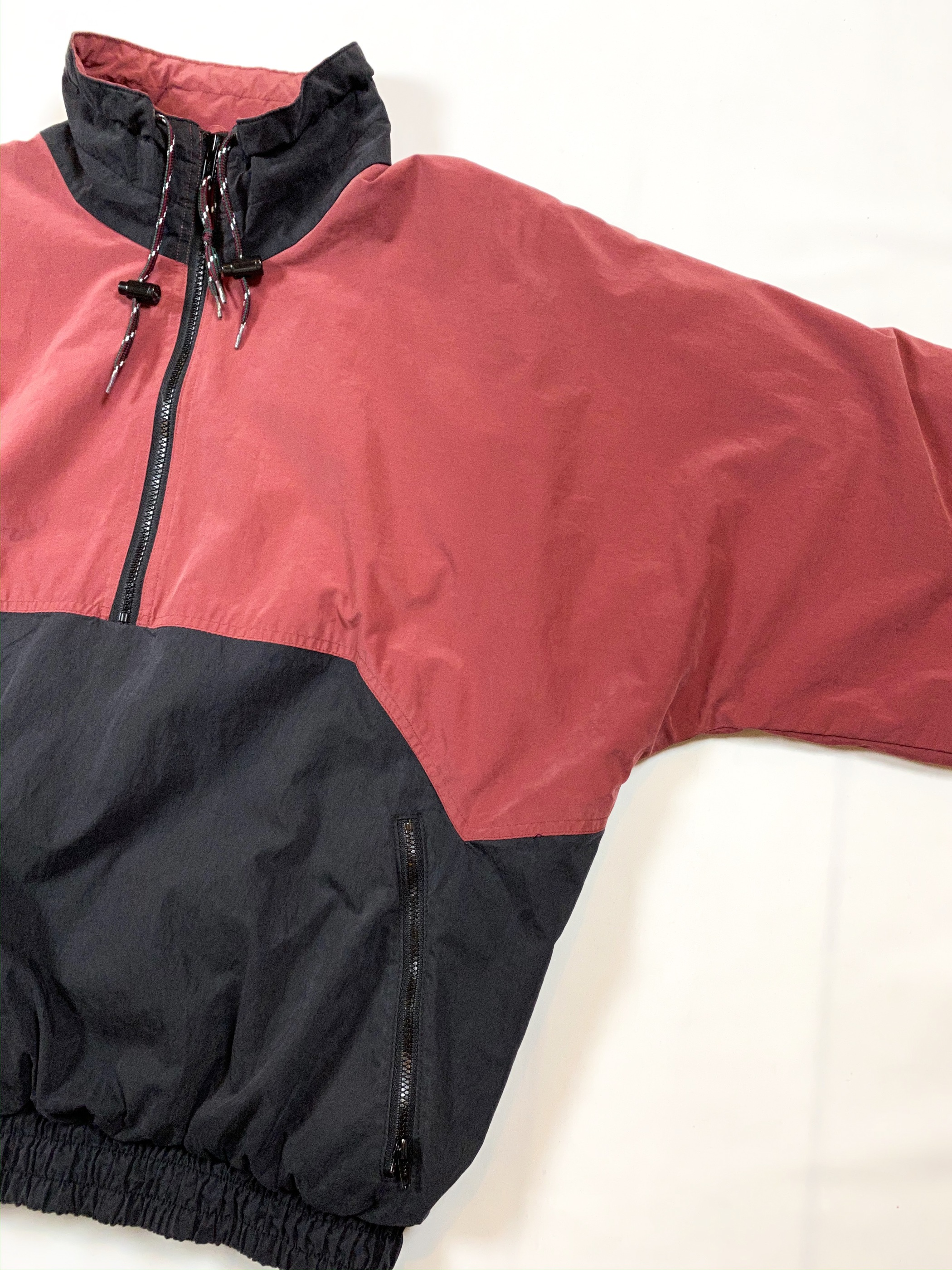 90's JANSPORT 2 tone anorak jacket