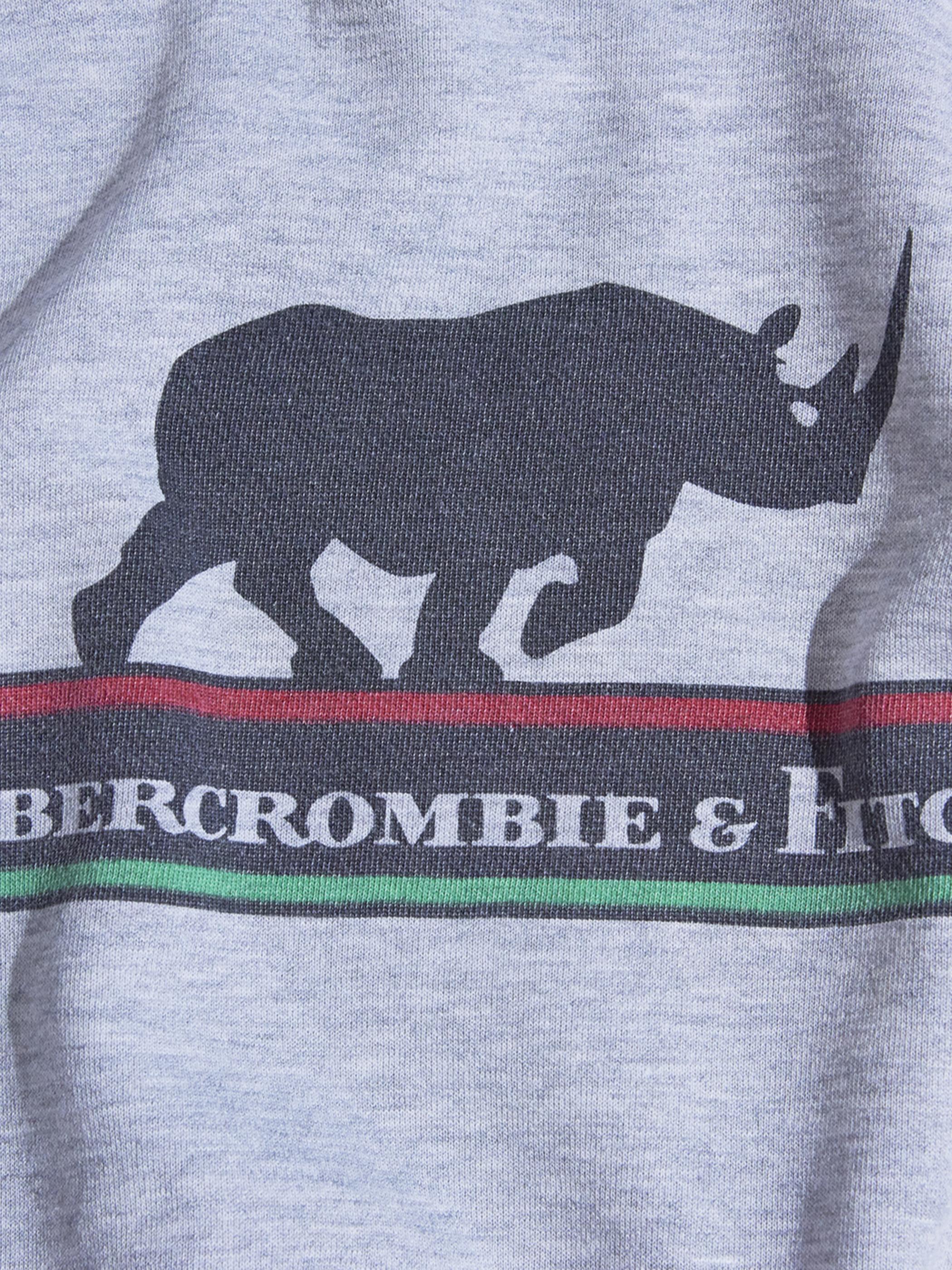 "1980s ""Abercrombie&Fitch × Champion"" print sweat -GREY- <SALE¥10000→¥8000>"