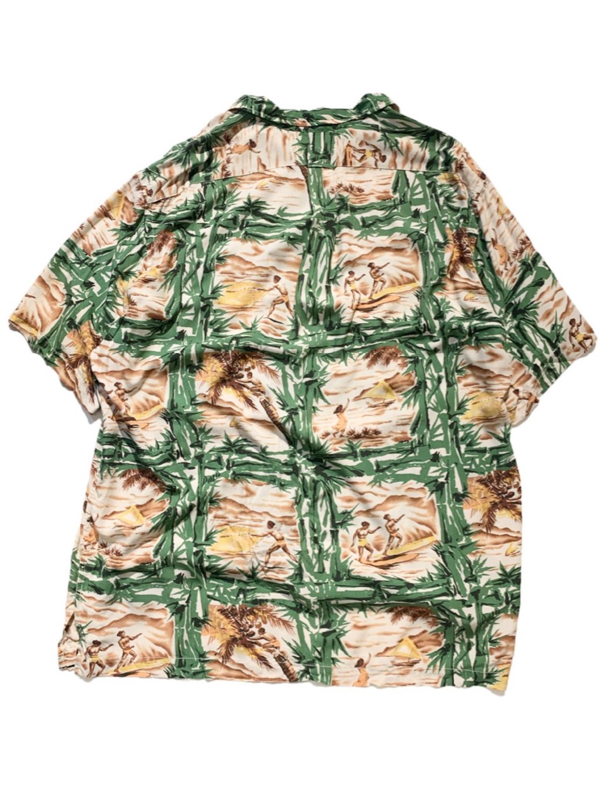 old POLO SPORTS hawaiian shirt