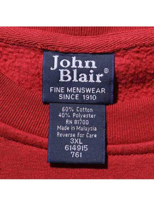 90's JOHN BLAIR ショートスリーブ ポケットスウェット [3XL]