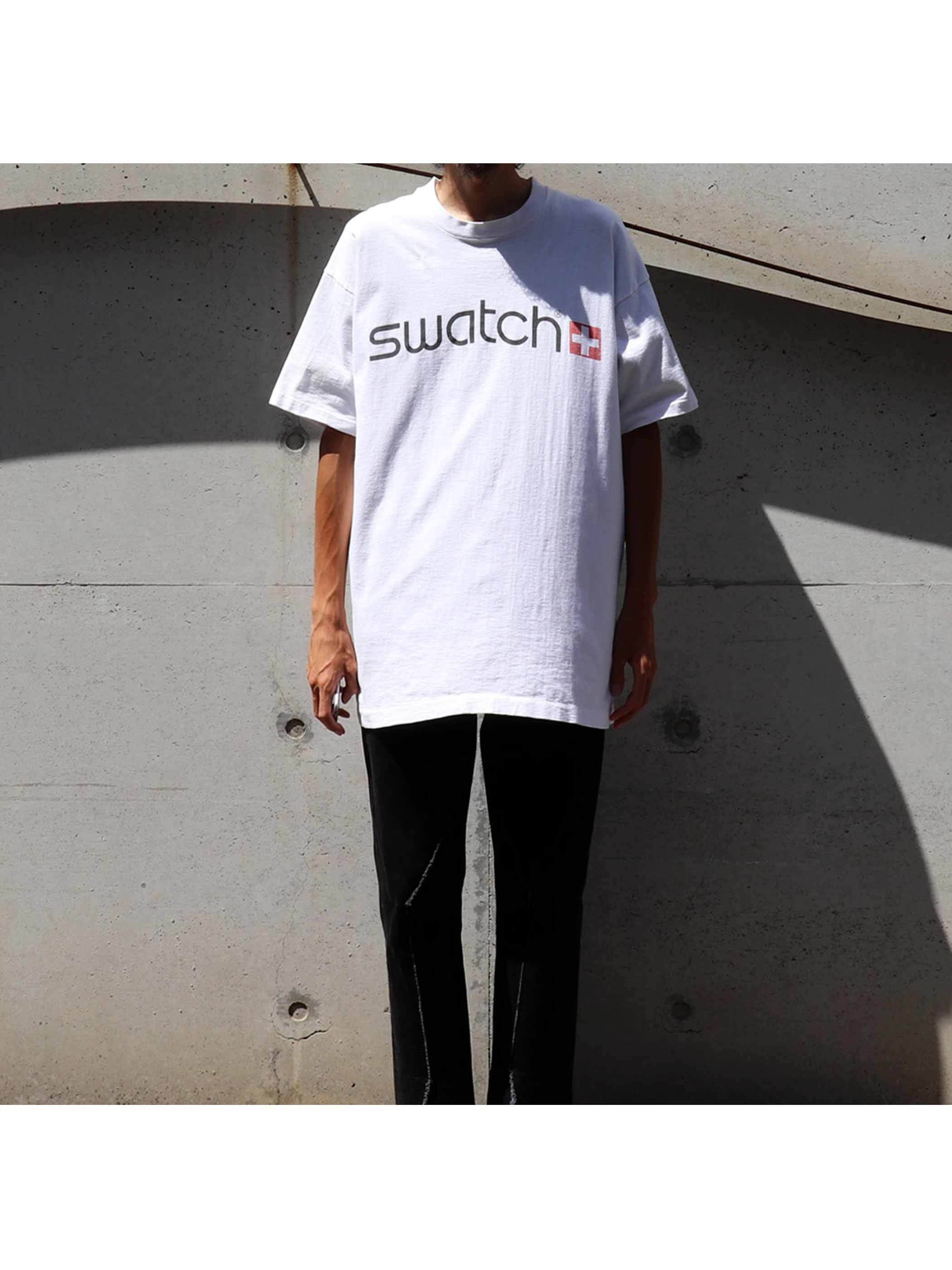 90's SWATCH USA製 Tシャツ [XL]